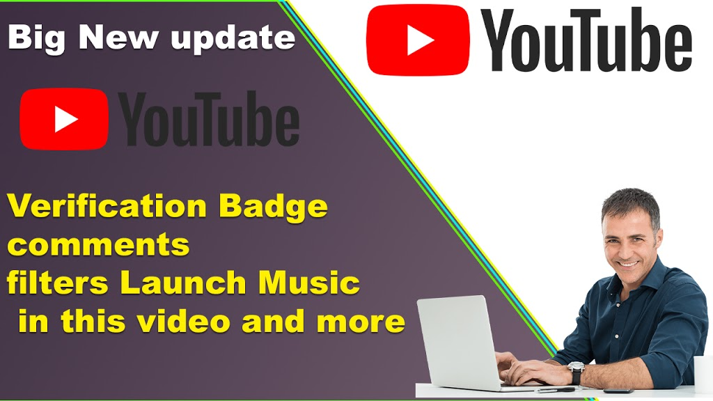 Verification Badge updates comments filters Launch Music in this video and more