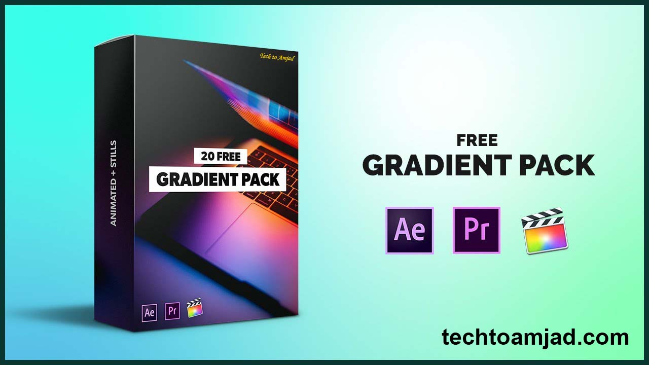gradient pack – After Effects, Premiere Pro, Final Cut Pro X, Android, iPhone