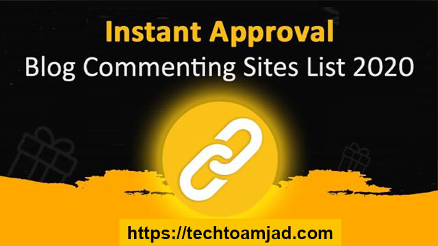 comment backlink Dofollow Instant Approval Blog Commenting Sites List high Quality backlink