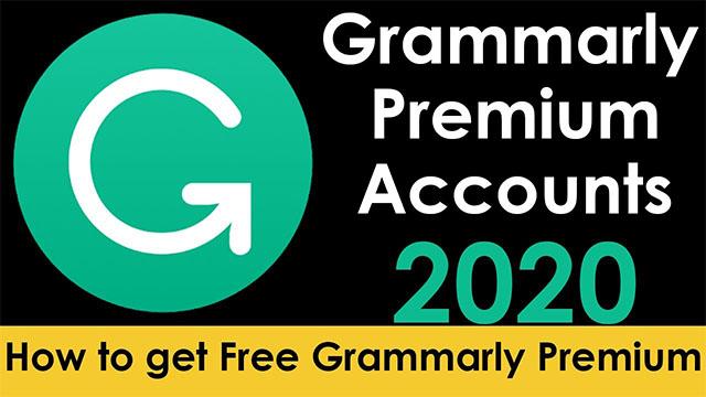 grammarly premium free 2020 – free grammarly premium account 2020