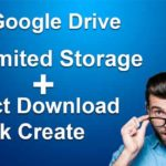 how to create direct download link of google drive file