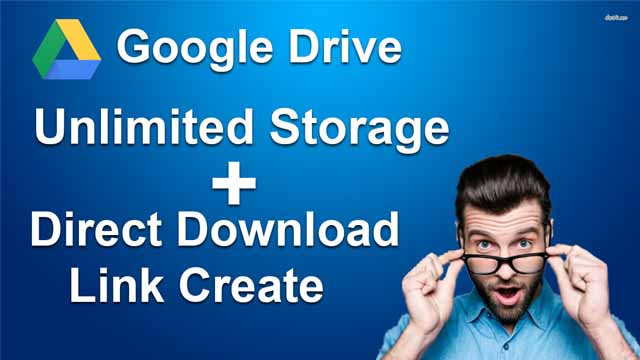 how to create direct download link of google drive file |google drive direct download link 2020