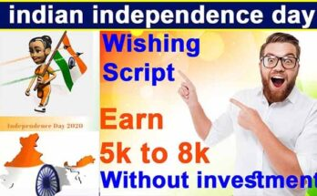 indian independence day wishing script for blogger free download