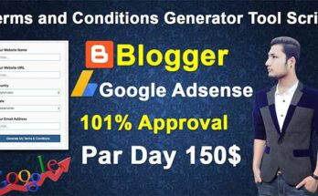 terms and conditions generator free | terms and conditions generator tool script for blogger