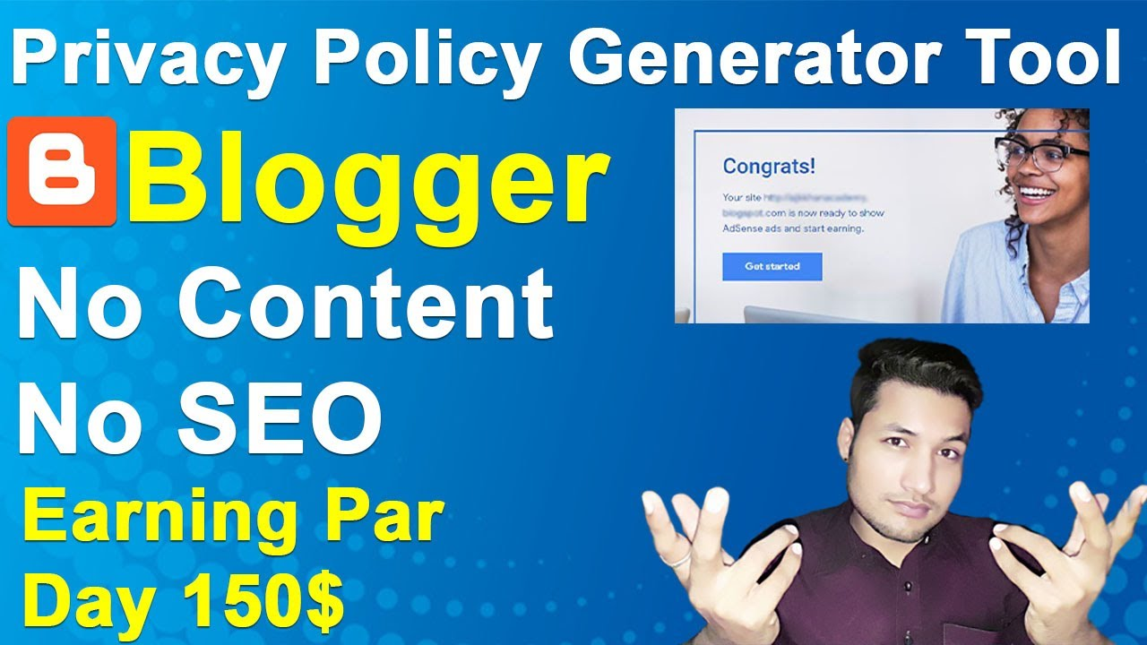 best free privacy policy generator | how to create privacy policy Generator tool website in blogger