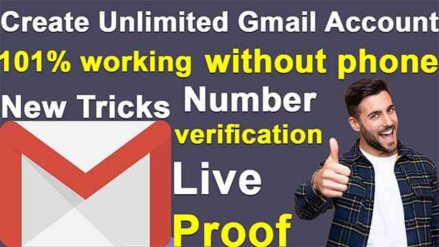 unlimited gmail account creator | unlimited gmail account without phone verification