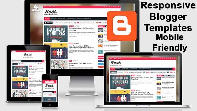 Responsive Blogger Templates   professional premium responsive blogger templates free