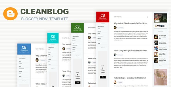 Clean responsive blogger templates | professional blogger templates free