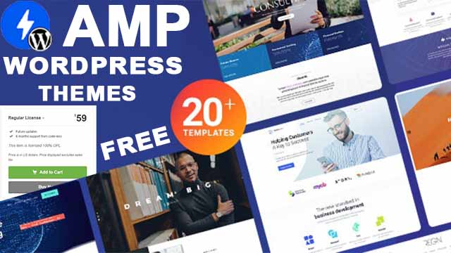 20+WordPress templates free Download premium best WordPress themes