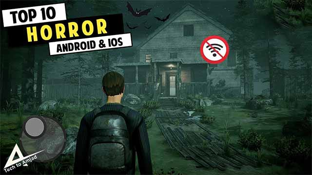 Top 10 Horror Mobile Games 2021 | New Horror Phone Games [Android & iOS] best horror games for android