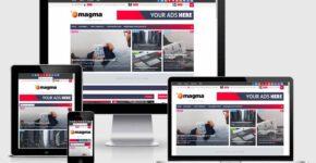 Magma blogger templates Responsive SEO Mobile-friendly templates